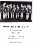 Hensler's where the elite didn't eat:-):-)