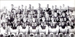 In 1958, the Blue Devils tied Thomasville 13-13 for the state title. Shown above, from left to right, are Varsity Team m