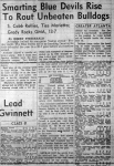 Avondale Beats Decatur